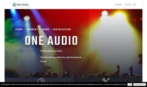 OneAudio AB | Sound performances